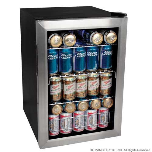 New 84 Can Glass Door Display Drink Fridge Beverage/Beer ...
