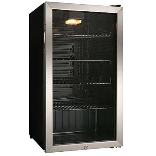 New Danby 120 Can Beer Beverage Glass Door Refrigerator