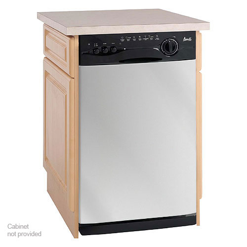 New Avanti 18 Inch Compact Built In Dishwasher Stainless