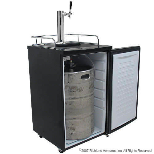 New Edgestar Full Size Kegerator And Keg Cooler With Beer