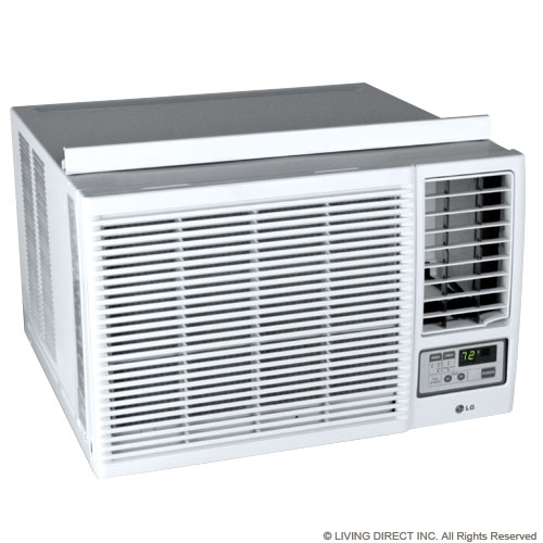 New lg window air conditioner window unit with heat and for Window unit with heat