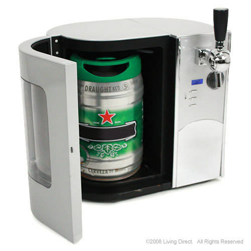 New Edgestar Mini Keg Draft Beer Dispenser Beer Cooler
